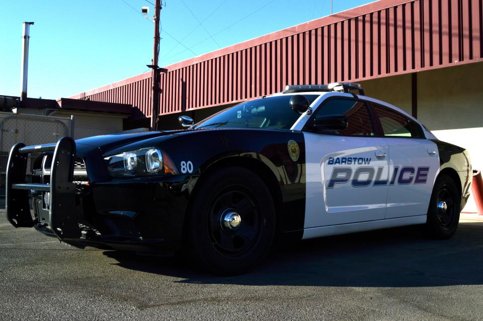 Barstow PD Charger Interceptor
