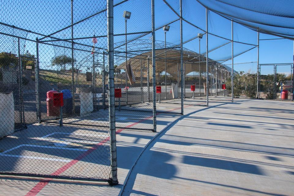 Robert A. Sessions Batting cages