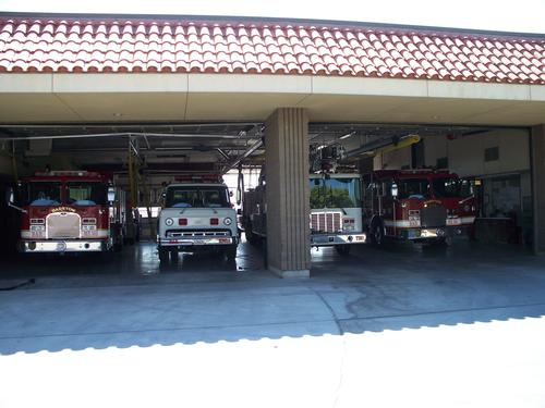 Barstow Fire displays four generations of service vehicles