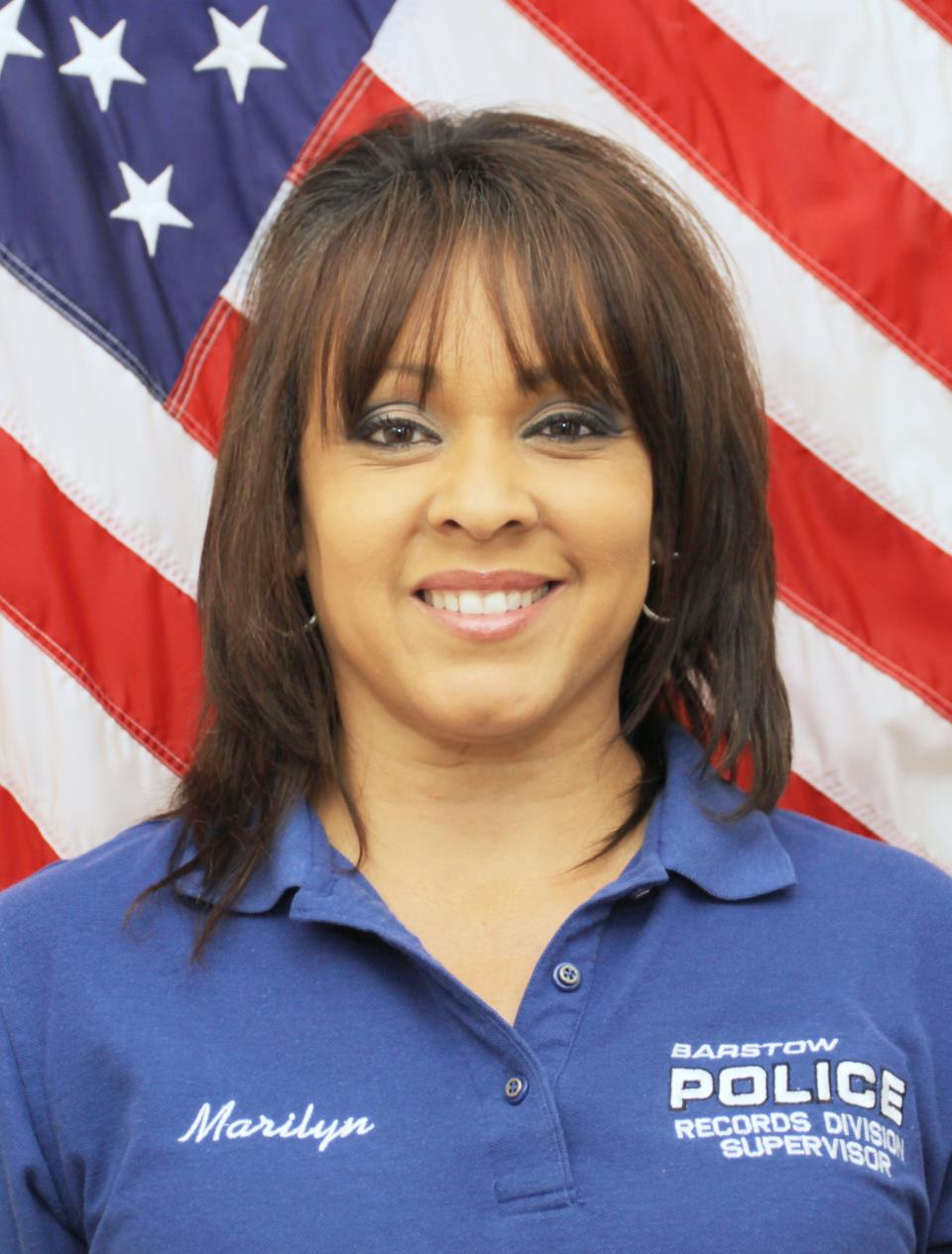 Police Services Supervisor Marilyn Maestas