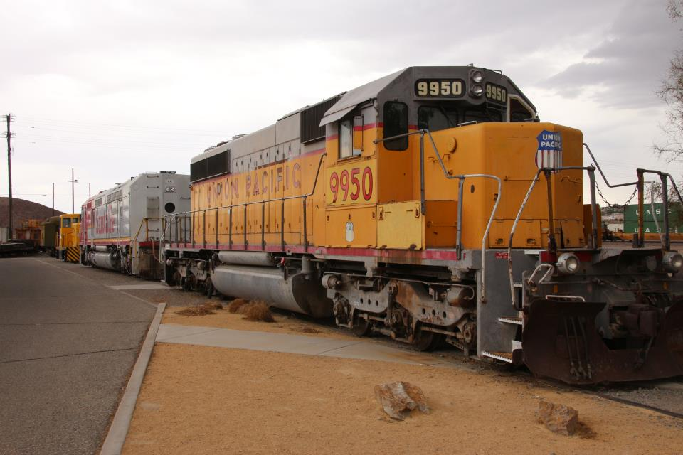 Union Pacific Engine