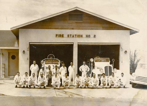 Historic Photo of Barstow Fire Department