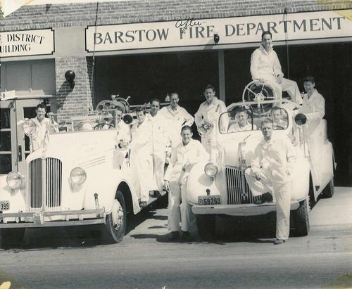 Vintage Barstow Fire Engines