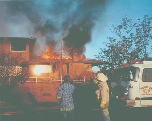 Barstow Fire District Responds to house fire