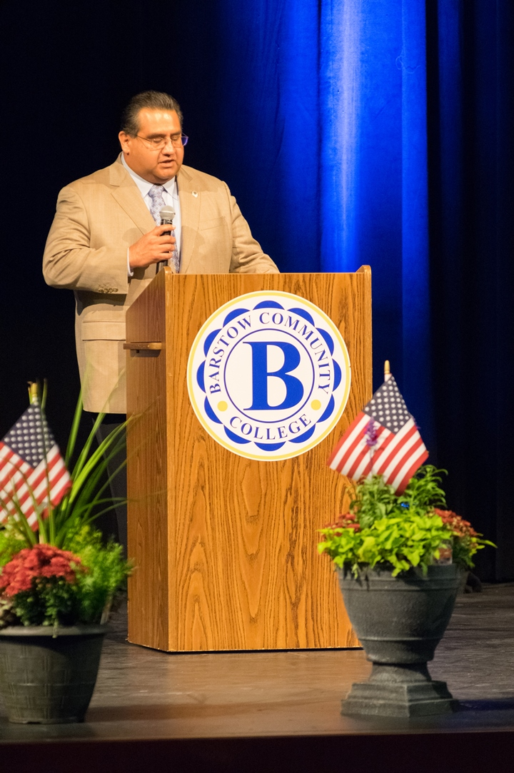 3rd District Supervisor James Ramos