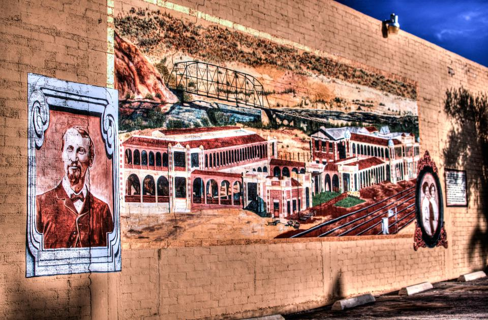 Barstow Mural on East Main Street