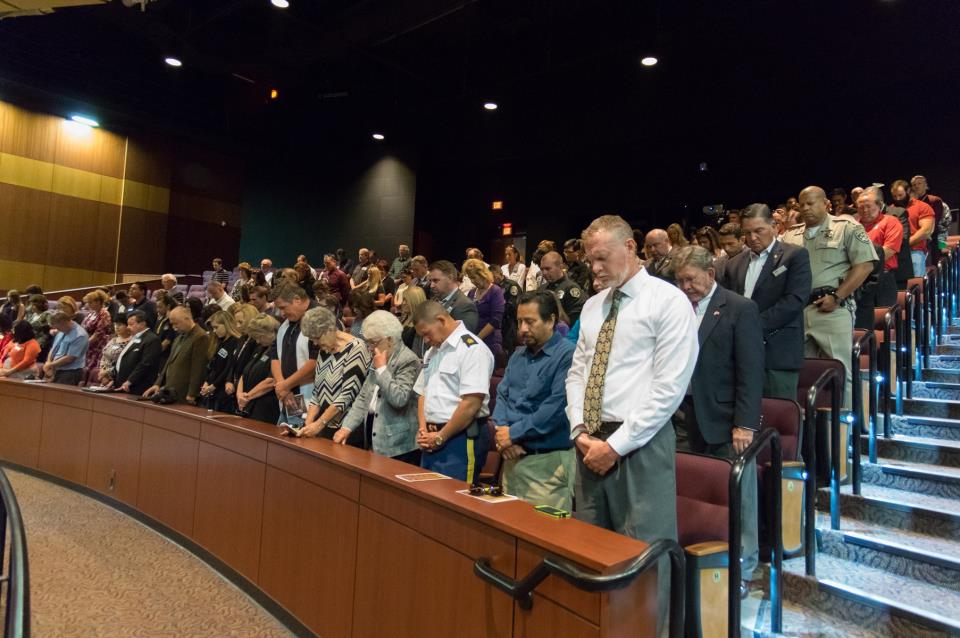 Attendees at the State of the City 2014
