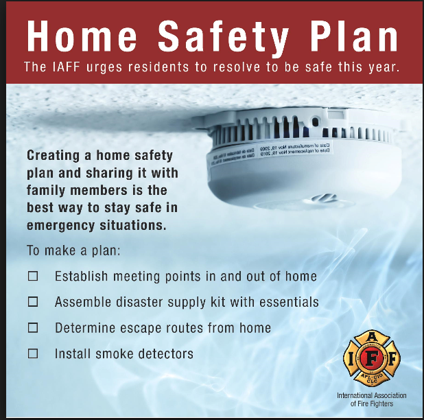 Home Safety Plan 2018